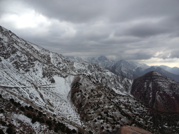 Atlas Mountains: Oukmaiden, Morocco, one mile from my Uncle BB's home, April 9, 2013, photo by Nicole Barchilon Frank