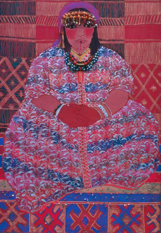 Berber Woman painting by Helen Redman