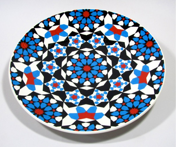 Platter by Paul Barchilon, the other chef in this family whose main medium is ceramic!