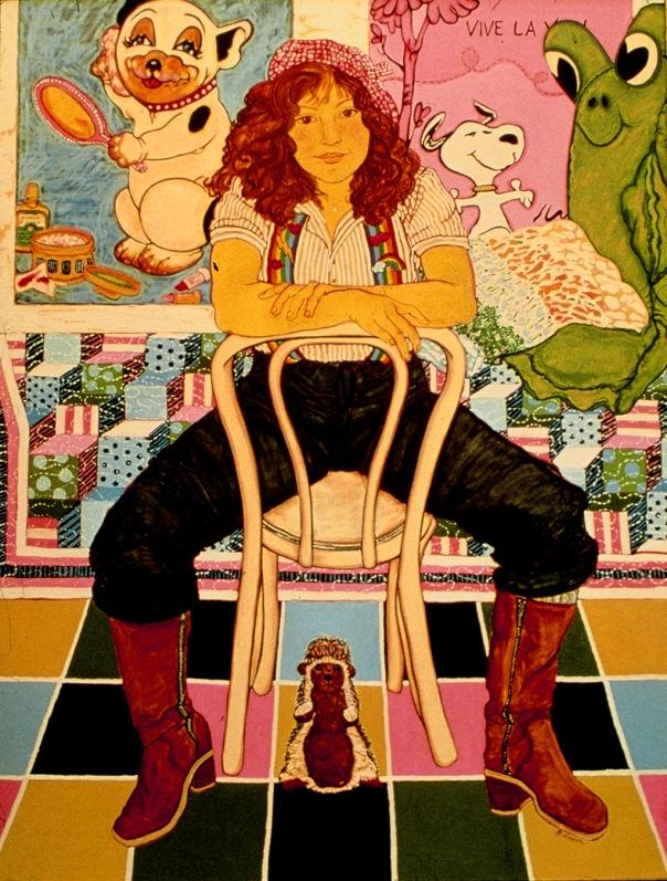 Nicole in Boots (15 Years) - 1979 by Helen Redman