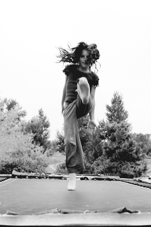 Skillfully Trampoline Jumping in my youth