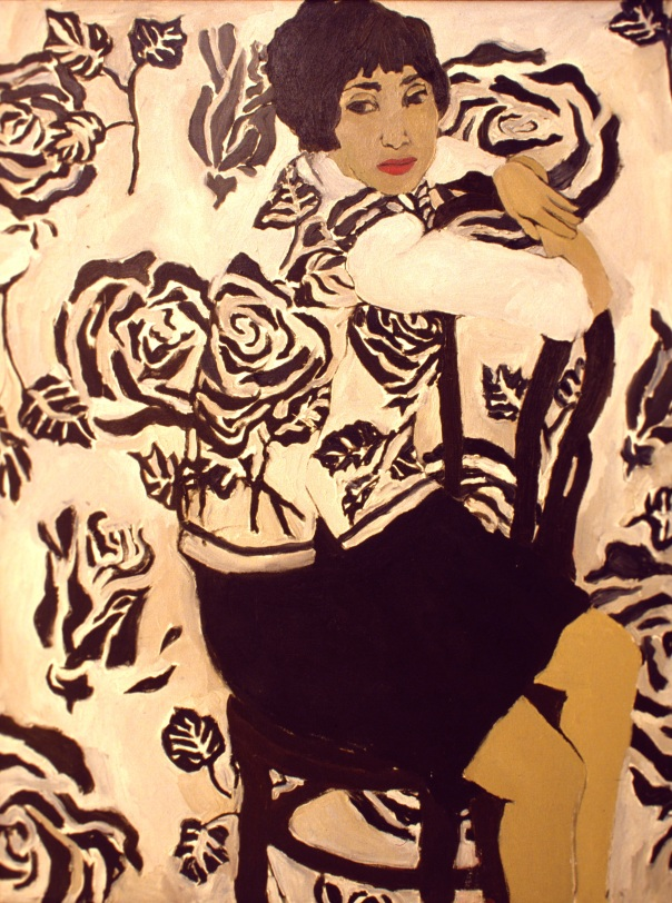 Portrait of Radka Donnell by Helen Redman