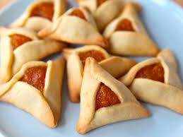 Apricot Hamentaschen, NOT made by me. This is the only cookie you will be getting from me!