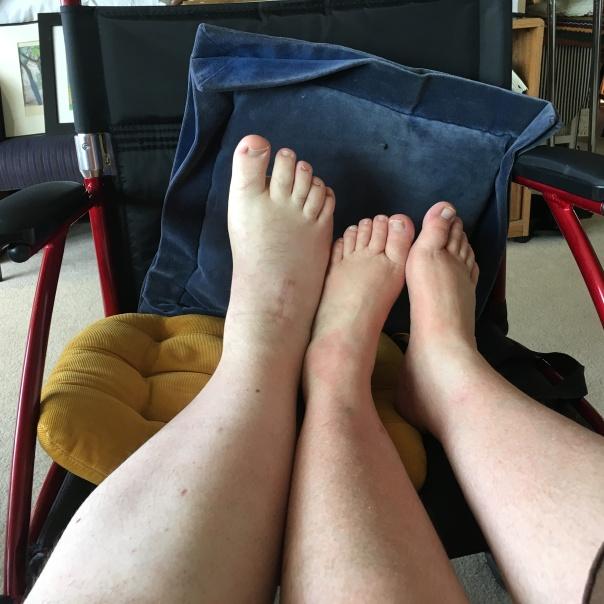 Issac Nicole feet