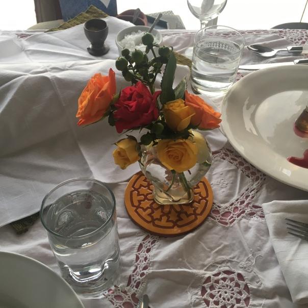 Shabbat Flowers.