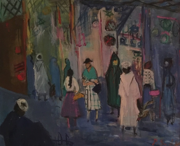 Morocco Street by Perla