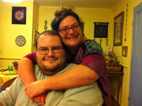 Mama Nicole and Issac