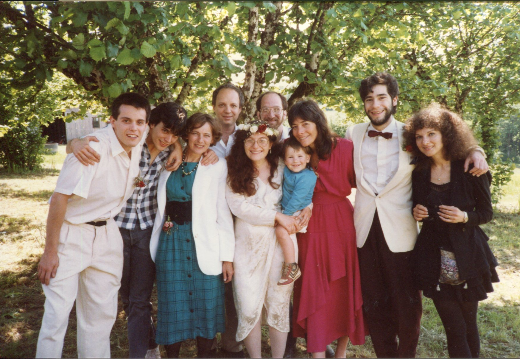 May 14, 1986 Family Wedding